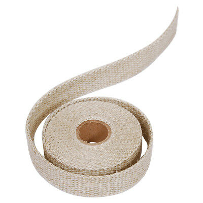 "Natural Exhaust Manifold Wrap 1"" Inch X 15 Foot Roll Gac150"