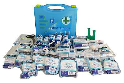 Qualicare BSI Premier Medium First Aid Catering Kit with Wall Bracket