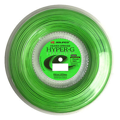Solinco Hyper-G 16L 1.25mm (green) 660ft 200m Tennis String Reel