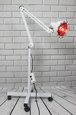 FoxHunter Infrared Floor Stand Heat Lamp Health Pain Relief Therapy 275W IL01