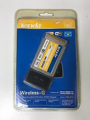 Original Tenda 802.11g Wireless -G LAN CardBus Adapter TWL541C
