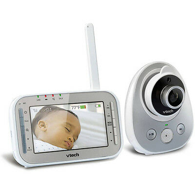 Baby Monitor Automatic Night Vision Camera Safe Sound Expandable Digital Video