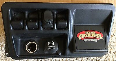 JEEP WRANGLER RUBICON TJ Tomb Raider Edition Dash Switch Panel 2003-2006