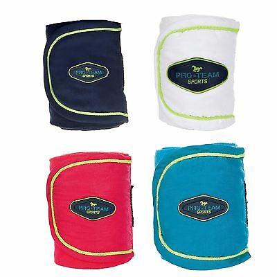 HKM Pro Team Polar Fleece Bandages -Neon Sports- Gift Boxed Set of 4