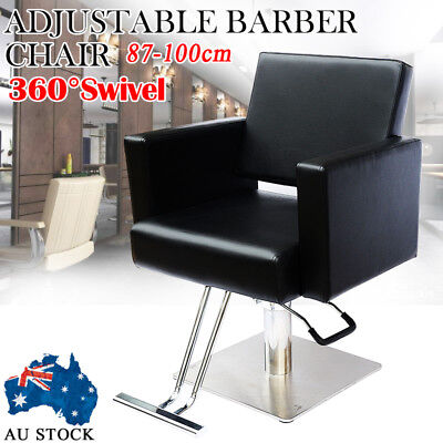 Salon Cutting Hairdressing Chair Hydraulic Lift Styling Barber Furniture PU