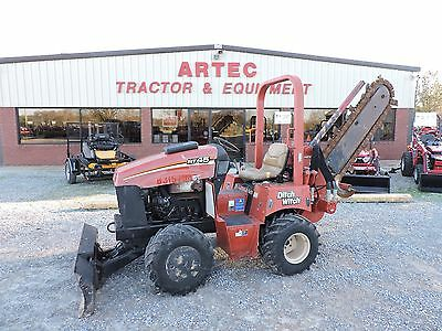 "2010 Ditch Witch Rt45 Trencher - Good Condition - Low Hours - Good 6"" Chain!!"
