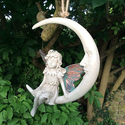 Forest Fairy Dream Catcher Hanging Ball Sculpture Copper Wing White Magic 39764