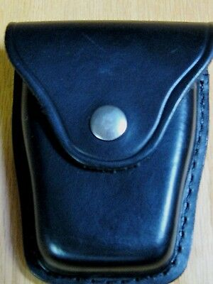 Jay Pee Jay-Pee Professional Top Flap Leather Handcuff Case Pouch Euc