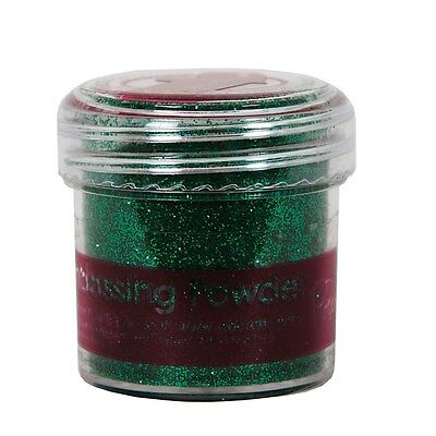 Embossingpulver Tinsel green Lametta-grün 28ml DoCrafts Papermania PMA 4021015