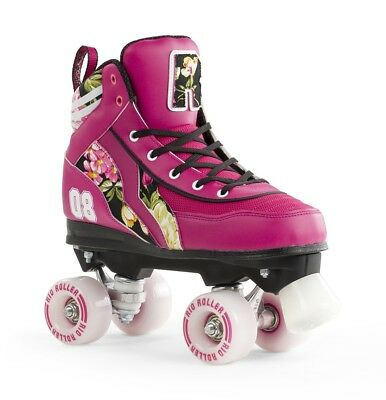 Rio Roller Flower Ltd Edition Kids/Adult Quad Roller Skates