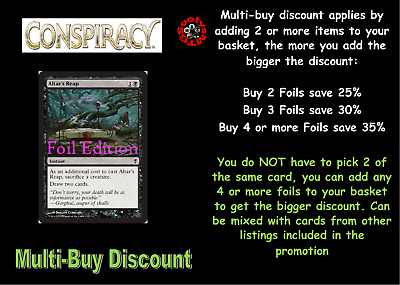 MTG Conspiracy CNS Choose your Common or Uncommon Foil - Buy 2 or more save 25%