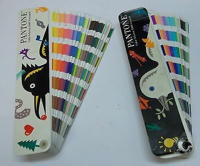 Pantone Color Selector Guide 1991-92 1000 Coated & 1000 Uncoated Complete Used