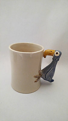 Fitz & Floyd Bird In Hand Mug - Blue Bird - Parrot ?