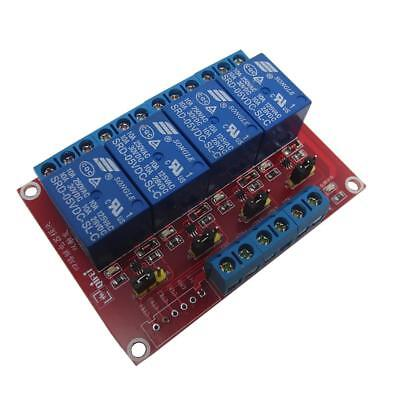 5V 4 Channel Relay Board Module Optocoupler LED for Arduino PiC ARM AVRC