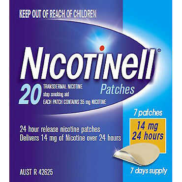 Nicotinell Patches 14mg 7 NEW Cincotta Chemist