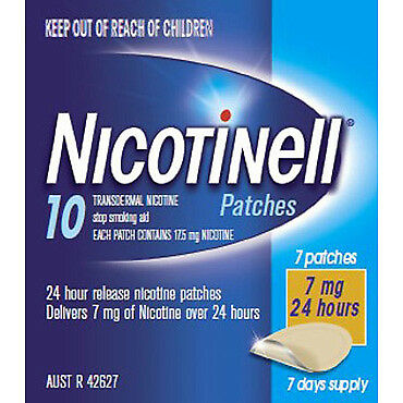 Nicotinell Patches 7mg 7 NEW Cincotta Chemist