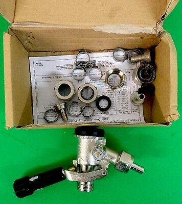 New Perlick Keg Coupler, 36000G, G-Series for Domestic Kegs ~ Free Shipping !!!