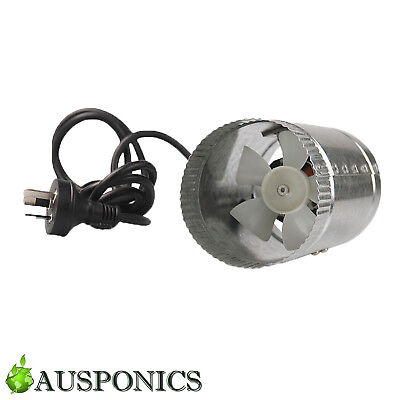 4 INCH/100MM 12W VENTILATING EXHAUST FAN Inline Vent Fan For Grow Rooms