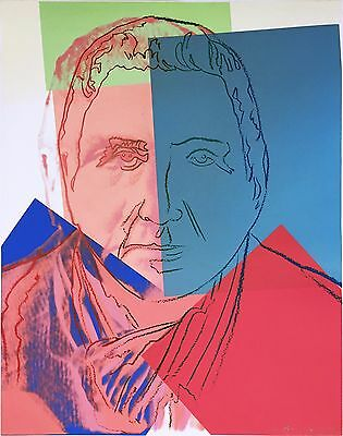 Andy Warhol Ii.227: Gertrude Stein 1980   Hand Signed Screenprint   Others Avail