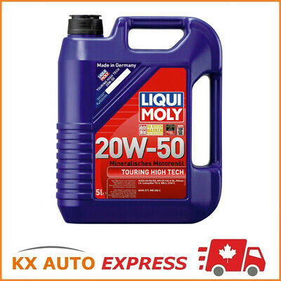 Liqui Moly TOURING HIGH TECH 20W-50 Mineral high-performance Engine Oil 5L