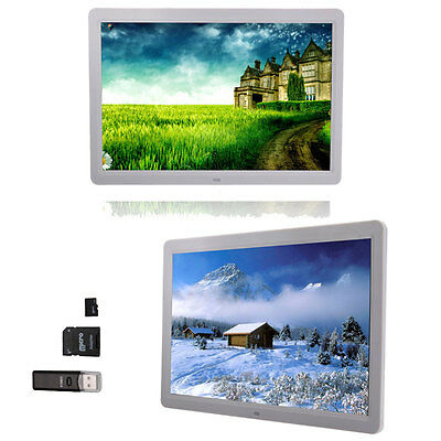 15 HD TFT-LCD Digital Photo Frame Picture MP4 Movie Player Remote Control