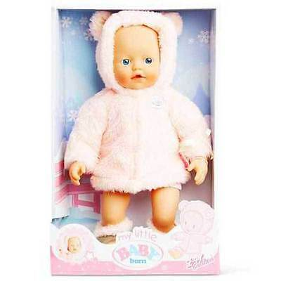 New Zapf Creations My Little Baby Born Super Soft Wintertime Doll 820674