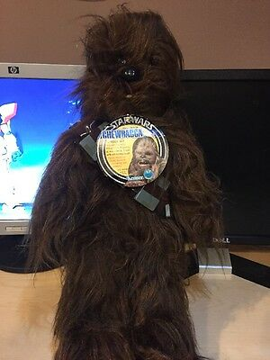 Kenner Vintage 1977 Star Wars Plush Chewbacca Unused With Tag
