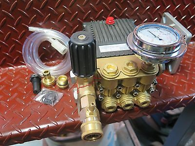 Pressure Washer Cleaner Triple Piston Water Pump 4350PSI for 11HP 13HP 15HP 20HP