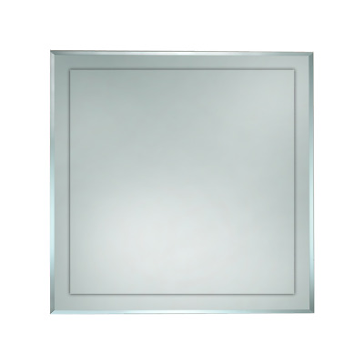 BATHROOM BEVEL EDGE SQUARE MIRROR 900mm x 900mm WALL MOUNTED BEM900*900