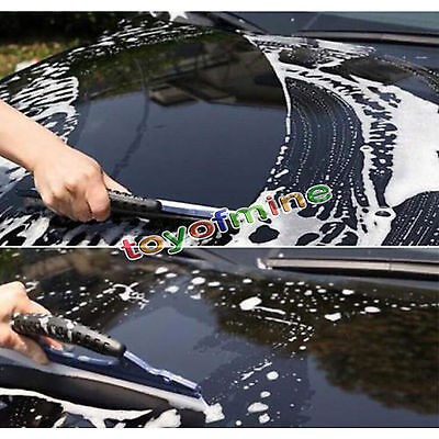Silicone Car Home Water Wiper Squeegee Blade Dry Valet Window Glass Clean Shower
