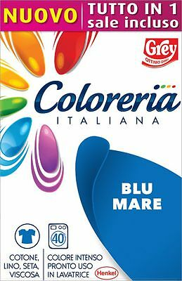 Grey Coloreria Italiana Colorante Pronto con Sale Incluso - BLU MARE