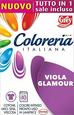 Grey Coloreria Italiana Colorante Pronto con Sale Incluso - VIOLA GLAMOUR