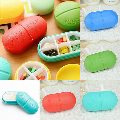 Cute Travel Pill Tablet Storage Box Medicine Organizer Container Holder Case