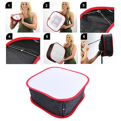 Foldable Portable Flash Diffuser LED Light Panel Softbox Collapsible Honeycomb