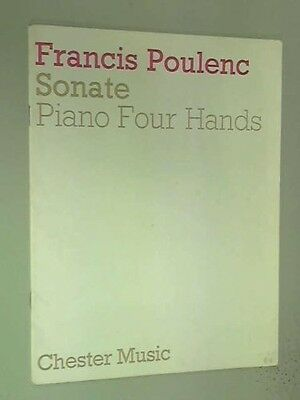 Sonate: Piano Four Hands