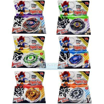 Top Metal Master Rapidity Fight 6 Beyblade Starter Set Toy