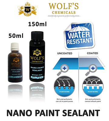 Wolf's Chemicals Mystery Juice Nano Ceramic Coating Car Paint Sealant 90% SiO2