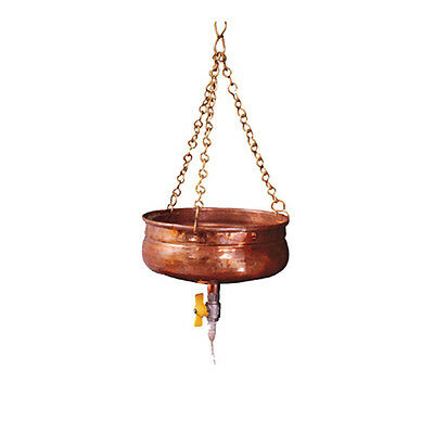 Shirodhara Copper Pot for Ayurveda Panchkarma with oil flow control valve 3229