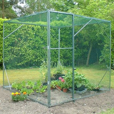 Expandable Modular Walk in Anti Bird Protective Fruit Cage Netting 1.8m/6ft