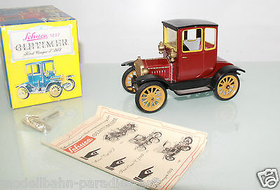 Schuco Oldtimer 1227 Ford Coupe T 1917 Blechmodell mit Uhrwerkantrieb (LL4034)