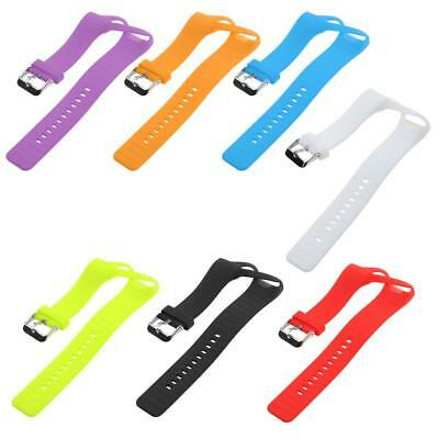 3D Silicone Gel Wrist Band Strap + Metal Buckle For Polar A360 Bracelet