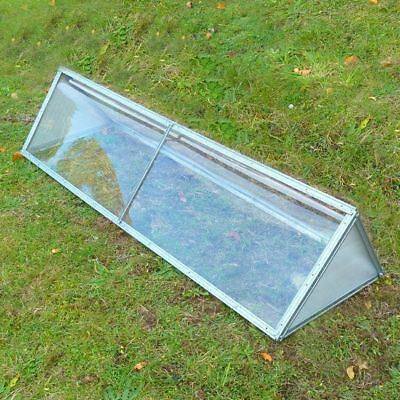 Garden Compact uPVC Cloche Growing Plant Vegetable Cover Protection from Birds