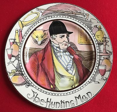 Royal Doulton China Dinner Plate The Hunting Man Pottery English Country