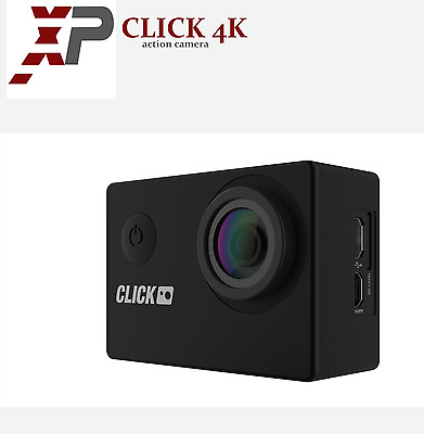 NEW CLICK 4K Ultra HD Waterproof Action Camera 1080p 60FPS 16MP Video Camcorder