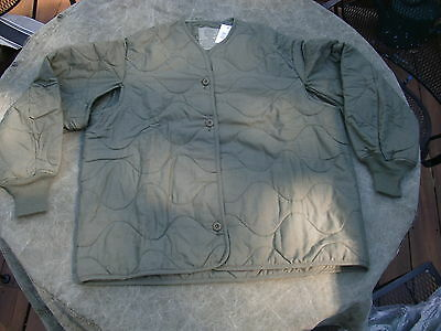New w/ tag Aramid Aircrew Cold Weather Flyer's Jacket Liner USAF ARMY Large Reg