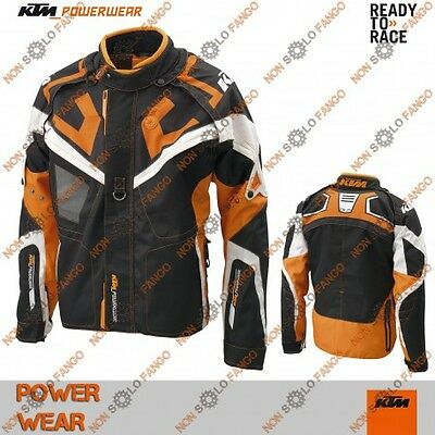 Giacca enduro KTM Power Wear Race Light Pro Jacket Orange L
