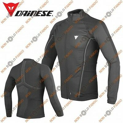 Maglia tecnica D-CORE NO-WIND THERMO TEE LS Nero/Antracite