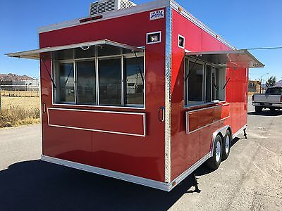 New Food Trailer Catering Concession Bbq 20' X 8.5' Fully Equipped