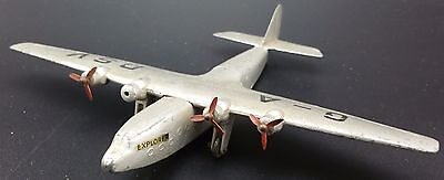 Vintage Dinky Ensign Class Air Liner,  Scarce G-ADSV Livery, Playworn