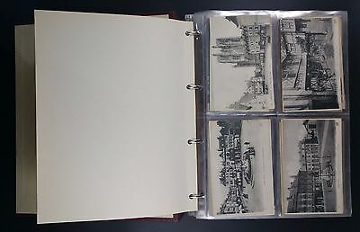 Album Filled with 229 French Topo Cards Inc Amiens, Albert, St Pol, Abbeville